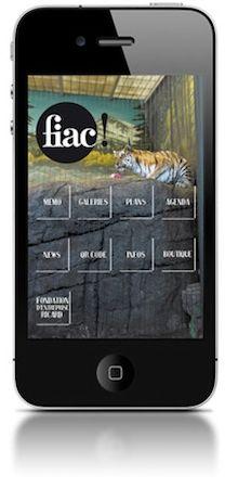 Application mobile de la FIAC