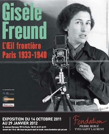 Exposition Gisele Freund à la Fondation Berger Saint Laurent