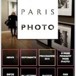 Application iPhone de Paris Photo