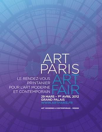 Art Paris Art Fair 2012 au Grand Palais du 29 mars au 1 avril 2012