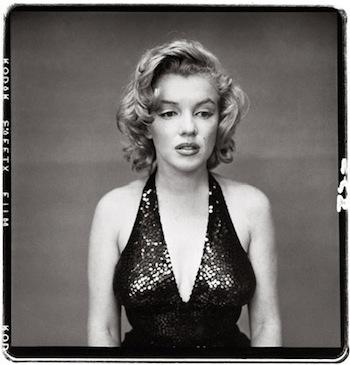 Marilyn Monroe à New York en 1957 - Richard Avedon