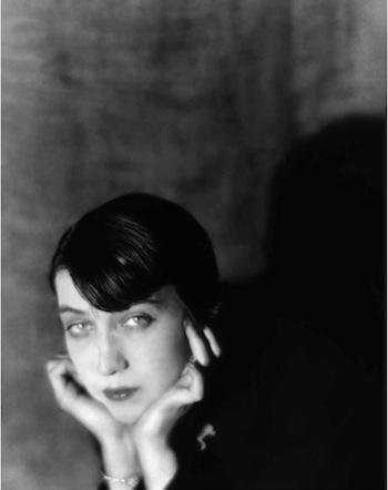 Portrait de Berenice Abbott par Man Ray