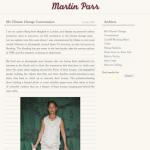 Martin Parr, le blog