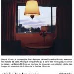 Alain Balmayer expose à la galerie Binôme