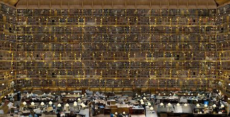 Jean François Rauzier - Bibliothèque Idéale 2