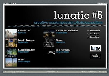 Numéro 6 du webzine Lunatic