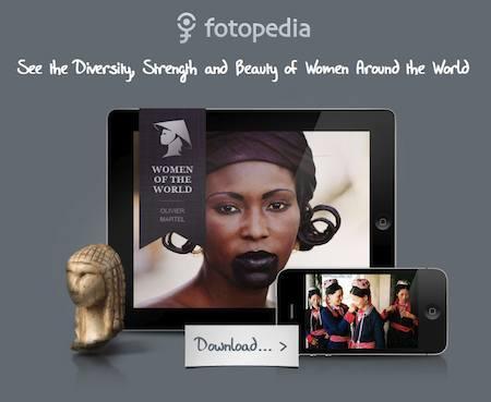Application iPhone et iPad - Femmes du monde par Photopédia