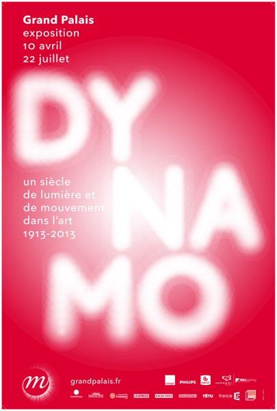 Exposition Dynamo, un siècle de lumière et de mouvements dans l'art 1913-2013