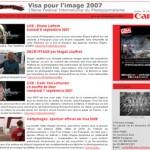 Photographie.com et Visa pour l'image 2007