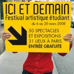 Ici et demain, les étudiants parisiens s'exposent