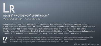 Lightroom 1.3
