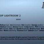 Lightroom 2.0, la beta
