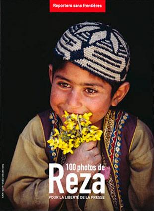 Reza pour Reporters sans frontières