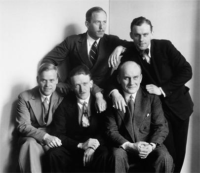 Hommes du XXe siècle, par August Sander